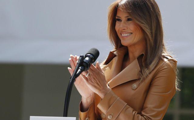 Melania Trump bi rada pomagala otrokom s starim programom. FOTO: Reuters
