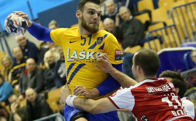 Borut Mačkovšek je od vrnitve v Celje pred dvema letoma postal vodja ekipe, v drugem delu sezone je tudi najboljši igralec. Foto Tomi Lombar