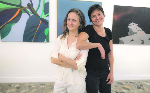 Maja Smrekar in Simona Semenič. FOTO: Branimir Ritonja