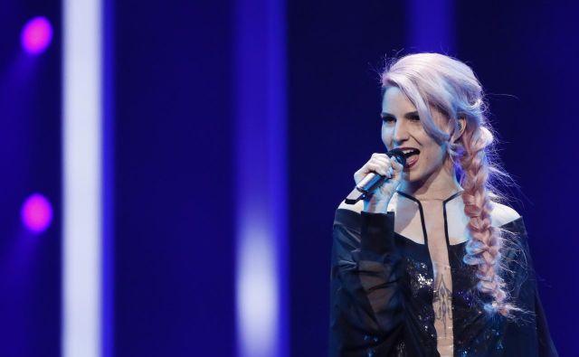 Lea Sirk: »Nisem tip človeka, ki bi preveč poskušal.« FOTO: Eurovision.tv