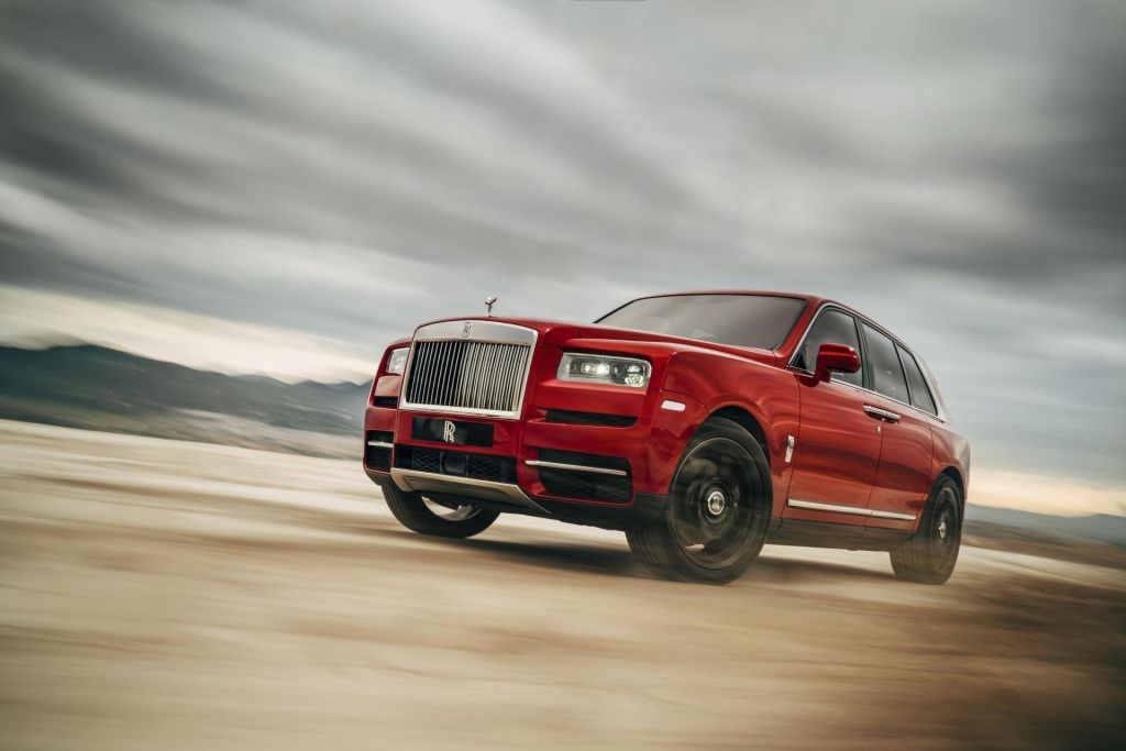 SUV iz Rolls-Roycea je cullinan
