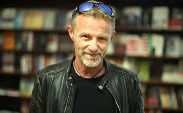 Med njegovimi najbolj zananimi knjigami so Taščica, Brezskrbno in Snežak. FOTO: Jure Eržen/delo/