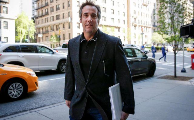 Trumpov odvetnik Michael Cohen je premikanje denarja pod mizo spremenil v uspešen poslovni model. FOTO: Reuters