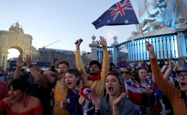 Skupina strokovnjakov je odkrila, da so ljudje štiri odstotke zadovoljnejši s svojim življenjem, če se njihova država uvrsti v finale Evrovizije. FOTO: Rafael Marchante/Reuters