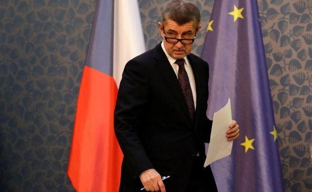 Andreju Babišu je končno uspelo sestaviti vladno koalicijo. FOTO: Reuters