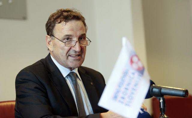 Branko Meh, predsednik Obrtne zbornice Slovenije. FOTO: Jo�že Suhadolnik/Delo