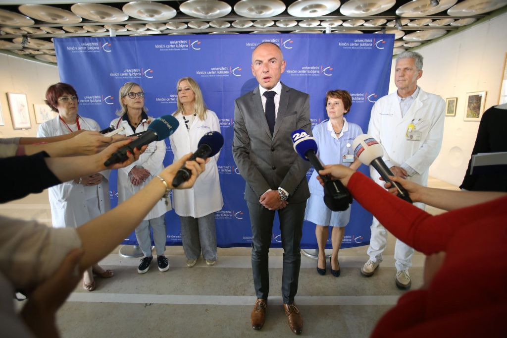 FOTO:Zdravniki so odšli, mali bolniki so ostali