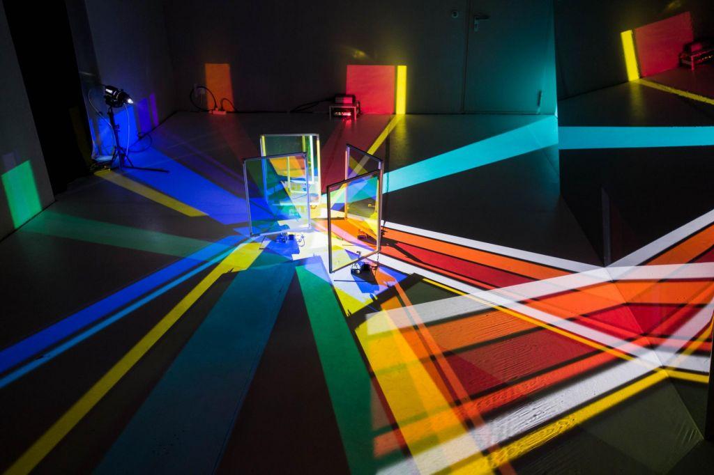 Svetlobna gverila: Barve