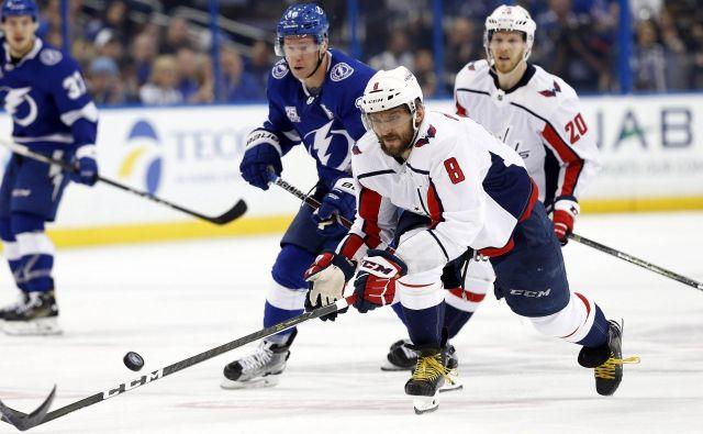 Aleksander Ovečkin še nima šampionskega prstana iz NHL. FOTO: Kim Klement/Usa Today Sports