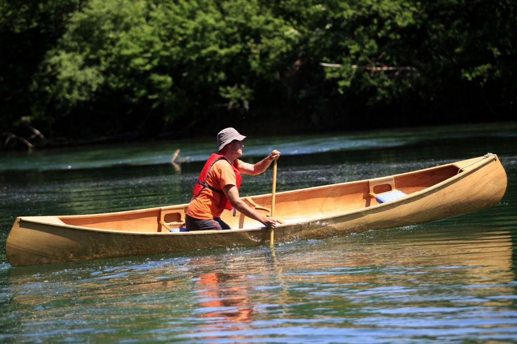 Indijanski izum na slovenskih rekah