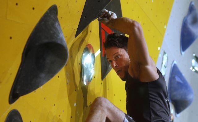Jernej Kruder je letos že trikrat stal na stopničkah. FotoBlaž Samec/Delo