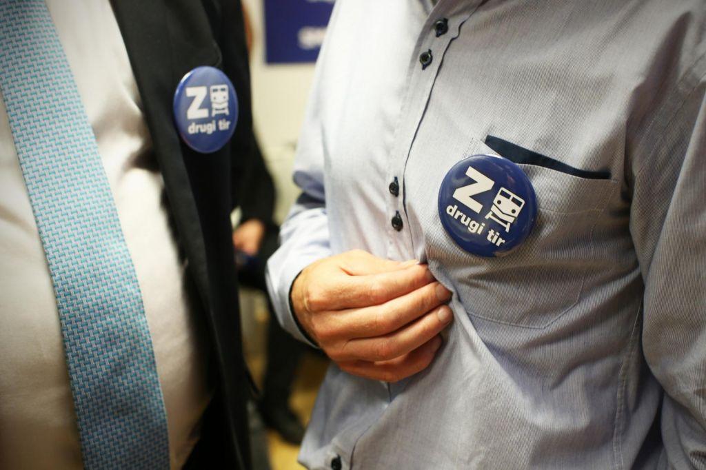 FOTO:Referendum pobudnikom tudi tokrat ni uspel