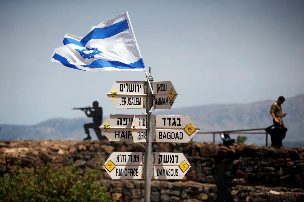 Izraelsko slavje med pripravami na vojno