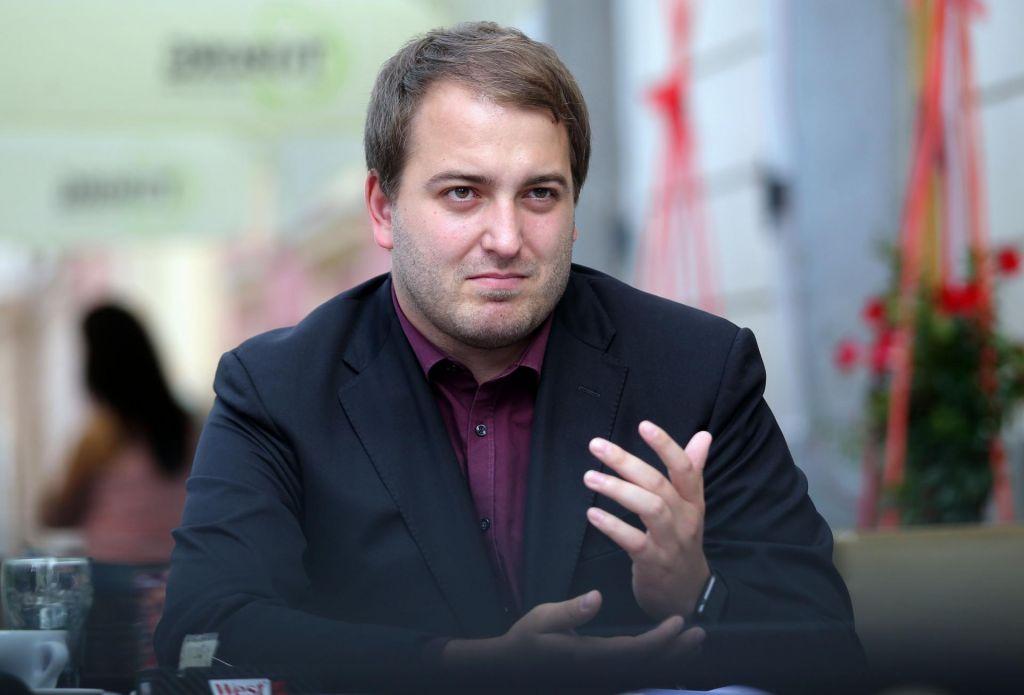 Andrej Čuš in Zeleni Slovenije na volitve v enoti Ljubljana Center