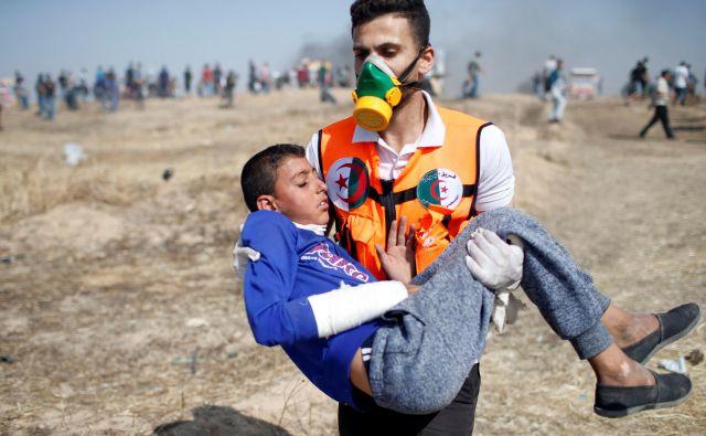 Območje Gaze. FOTO: Mohammed Salem/REUTERS