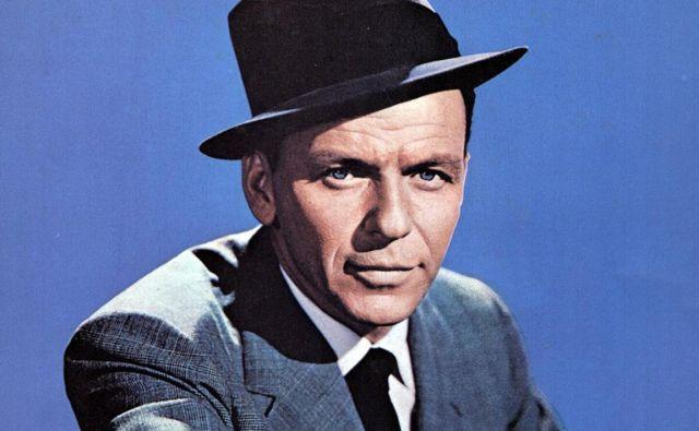 Pred 20 leti se je poslovil ameriški pevec in igralec Frank Sinatra. FOTO: Promo Material