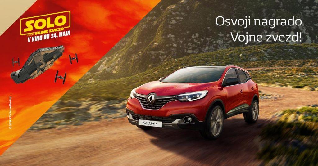 Podajte se na avanturo z Renaultom in Vojno zvezd!