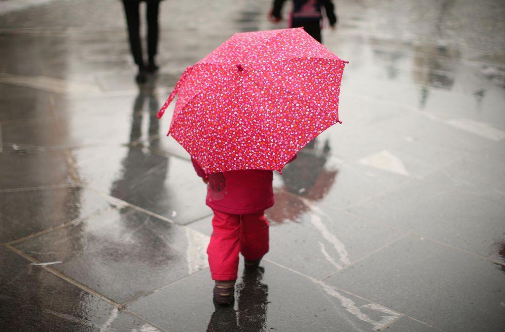 Od doma nikar brez dežnika, lahko tudi zagrmi