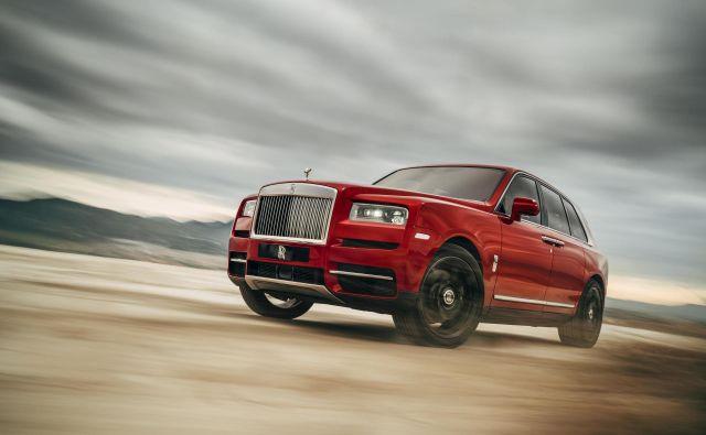 Ravno te dni je britanski Rolls-Royce predstavil svojega prvega športnega terenca po imenu cullinan. FOTO: Rolls-Royce