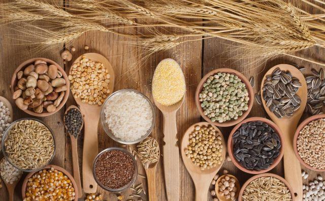 Najbolje je izbrati polnozrnata žita (pšenico, piro, kamut, rž, ječmen, oves) in psevdožita (ajdo, proso, kvinojo, amarant) ter izdelke iz njih.