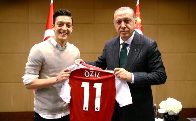 Mesut Özil in Erdoğan FOTO: Handout/Reuters
