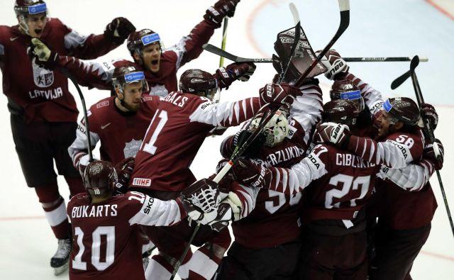 Veselje Latvijcev je bilo nepopisno. Foto David W. Černy/Reuters