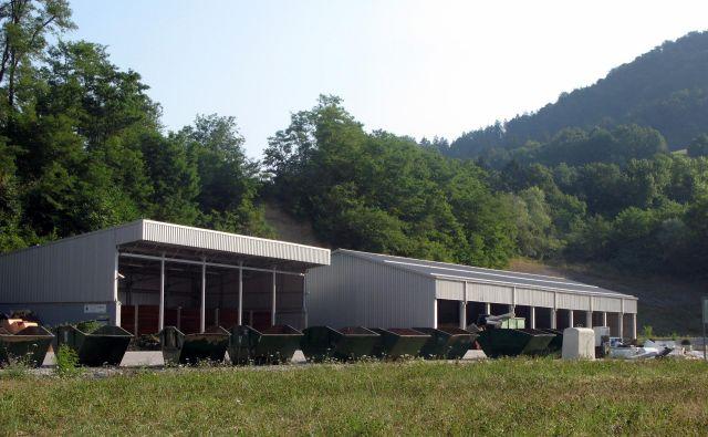 Zbirni center trboveljske komunale. FOTO: Komunala Trbovlje