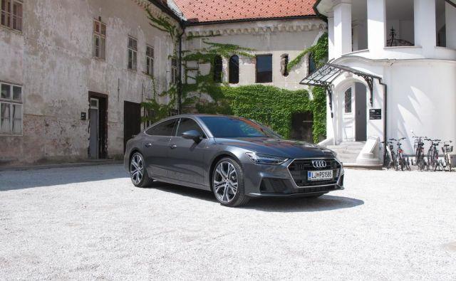 Audi A7 nove generacije na leto meri na 30 do 35 slovenskih kupcev. FOTO: Blaž Kondža