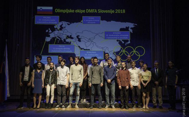 Udeleženci olimpijskih ekip na Bistroumih 2018 FOTO: Jana Jocif