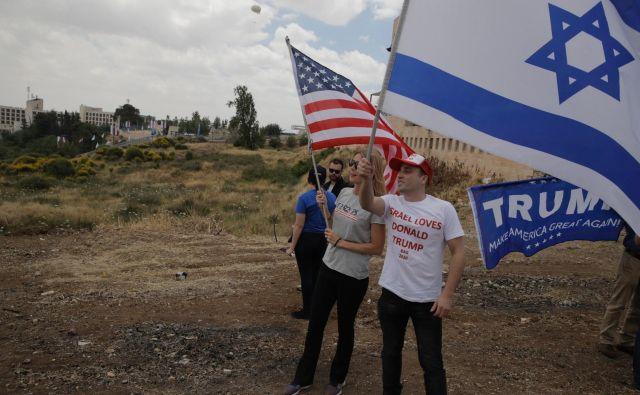 Selitev veleposlaništva ZDA v Jeruzalem je vplivala tudi na izraelsko-turške odnose. FOTO: Sebastian Scheiner/AP