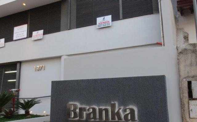 »Edificio Branka« stoji v središču Asuncióna, v četrti General Díaz. FOTO: Marko Jenšterle In arhiv Adeline Pusiner