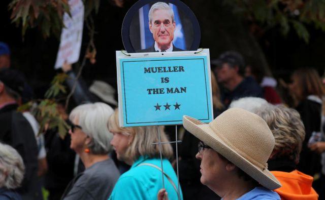 Namesto posebnega preiskovalca Roberta Muellerja govorijo njegova dejanja. FOTO: Reuters