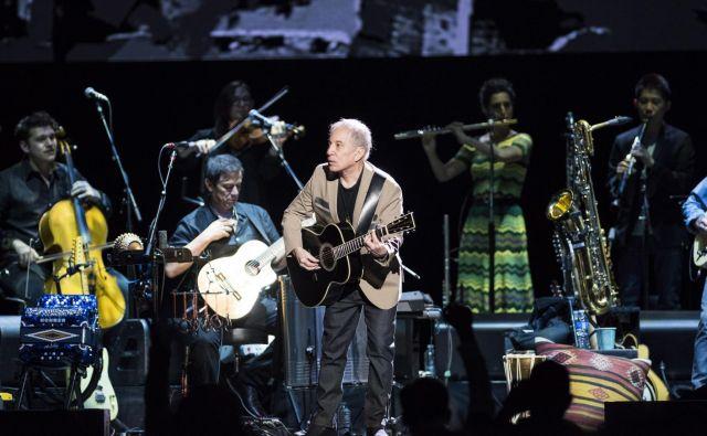Paul Simon na svoji zadnji turneji. FOTO: Jimmy Jeong/AP