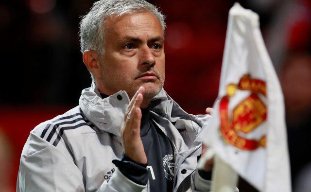 Jose Mourinho želi okrepiti svojo obrambo. FOTO: Jason Cairnduff/Action Images Via Reuters