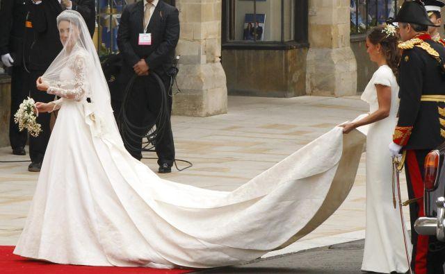 Pippa Middleton je zaslovela na poroki svoje sestre Kate s princem Williamom. FOTO: Phil Noble/Reuters
