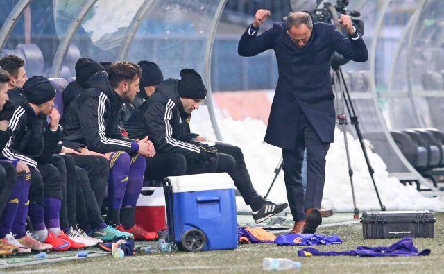 Darko Milanič je proti Olimpiji v ligaških derbijih le enkrat okusil grenkobo poraza. FOTO: Tadej Regent/Delo/