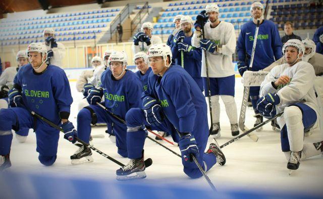 Slovenska reprezentanca se bo naslednje leto za uvrstitev v najvišji razred borila v Kazahstanu.<br /> FOTO Jure Eržen/Delo