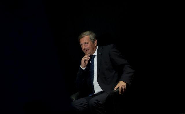 Predsednik stranke Desus Karl Erjavec je s približevanjem datuma volitev vse bolj oster v svojih izjavah FOTO: Voranc Vogel