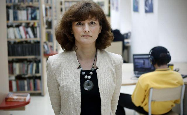 Velik izziv je tudi izgradnja novih lokacij že obstoječih knjižnic v novih soseskah Polje IV in Novo Brdo II, je povedala direktorica MKL Teja Zorko. FOTO: Bla�ž Samec