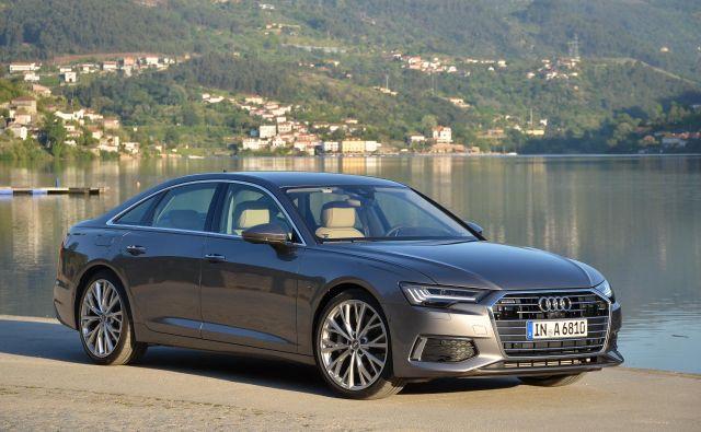Od vseh velikih Audijevih limuzin je tržno najpomembnejši ravno audi A6. V osmi izvedbi znova tekmuje predvsem z BMW-jem serije 5 in mercedesom razreda E. FOTO: Gašper Boncelj