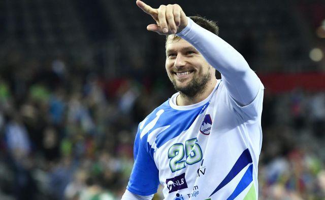 Marko Bezjak želi svojo kariero obogatiti s pokalom EHF.