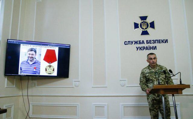 »Agresorska Rusija« naj bi izkoriščala agencijo za »informacijsko vojno proti Ukrajini«. FOTO: Reuters