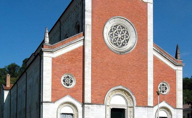 Špetrska cerkev. FOTO: Wikipedija