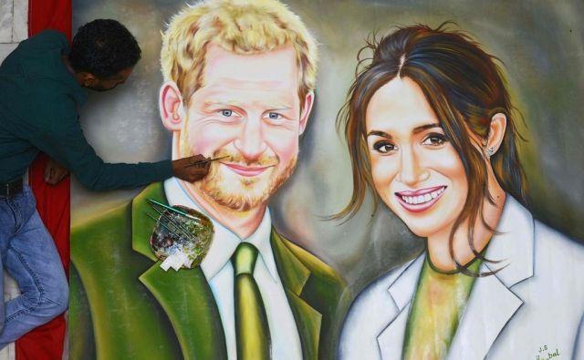 Za to, da so v reviji Forbes zvezo Harryja in Meghan poimenovali najbolj moderna kraljeva romanca, ima veliko zaslug nevestina identiteta in njeno ozadje. FOTO: AFP