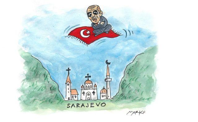 Na mirom Turčija FOTO: Marko Kočevar/
