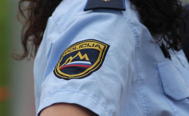 Policisti so avtomobil skušali ustaviti v Bertokih, vendar se na njihove znake ni odzval in je s povečano hitrostjo peljal naprej. FOTO: Špela Ankele/