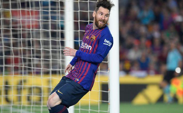 Lionel Messi je strelski kralj postal že petič. FotoLluis Gene/AFP
