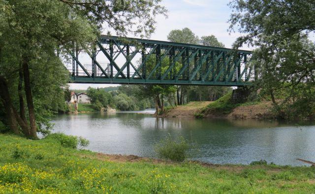Most čez Kolpo v Rosalnicah. FOTO: Bojan Rajšek/Delo