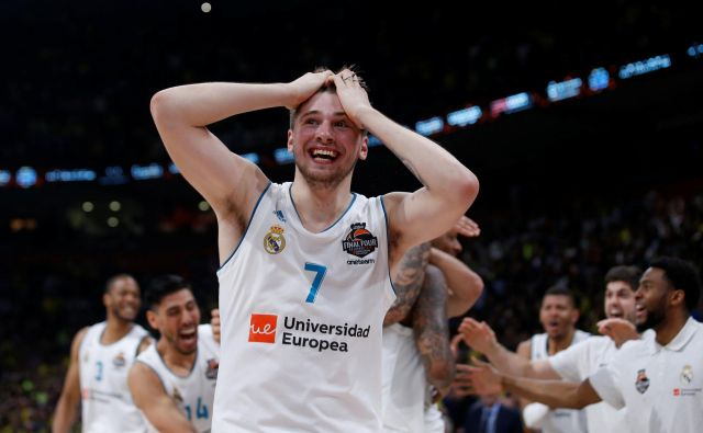 Na tej celini ni mogoče doseči več, kot je dosegel Luka Dončić. FotoAlkis Konstantinidis/Reuters