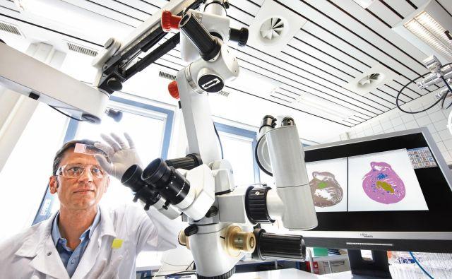 Zdaj so prvi izdelek zdravila, pozneje bodo enako velik tudi sredstva za rastline. FOTO: Bayer